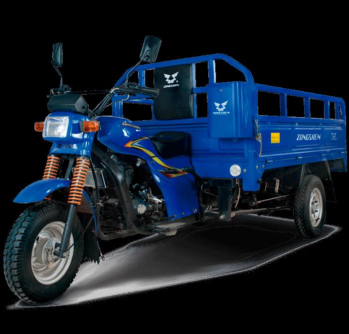 Trimovil - Furgón 200 - Zongshen-principal-Azul