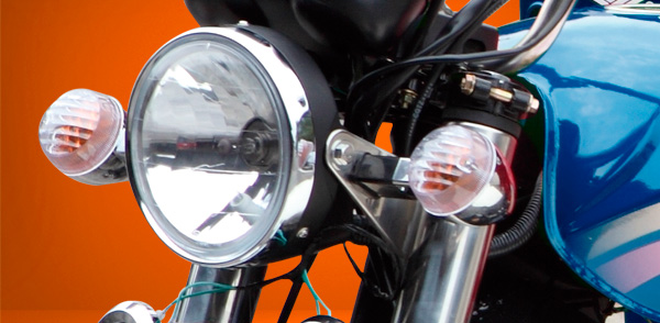zongshen-motocicleta-furgón 250-faro