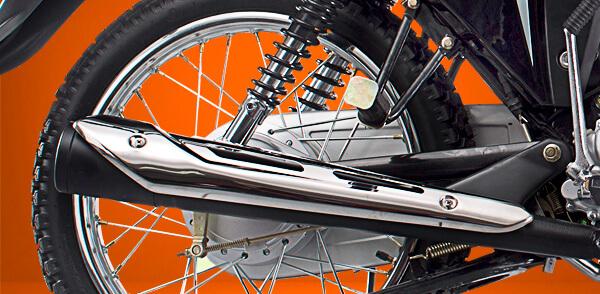 zongshen-motocicleta-rx150-tubo-de-escape