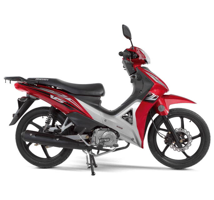 motocicleta-zongshen-V5-roja